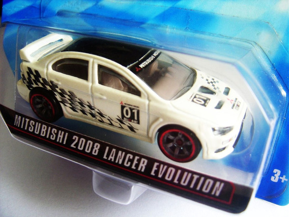 Speed Machines Lancer Evolution 2008 Hot Wheels Lacrada