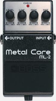 Pedal Boss Ml-2 Metal Core Musical Store