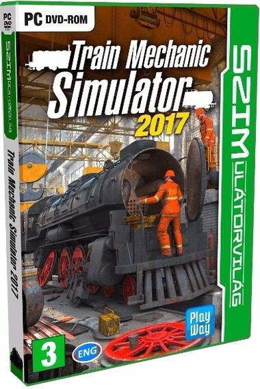 Train Mechanic Simulator 2017 - Pc Dvd - Frete 8 Reais