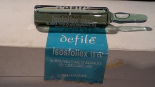Ampollas Capilares Defile Isofoliex Silicon Y Seda X 3
