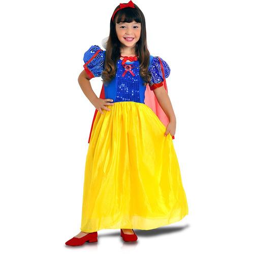 Fantasia Princesa Rubi Tamanho M Sulamericana - Bonellihq