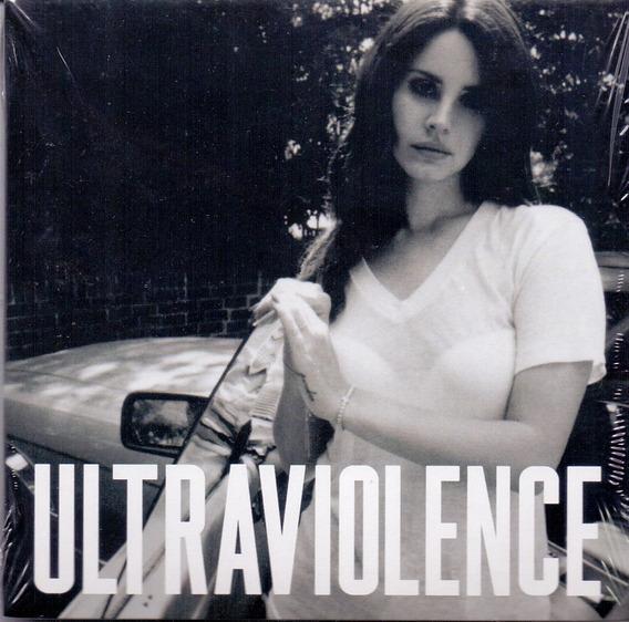 Cd Lana Del Rey - Ultraviolence Deluxe ( Digpac ) - Novo***