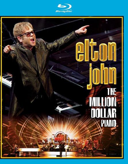 Elton John - The Million Dollar Piano [blu-ray] - Importado