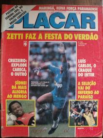 Revista Placar N- 884 Flamengo Curuzeiro Inter Seleção