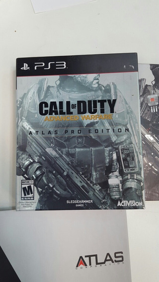 Call Of Duty Atlas Pro Edition Box Ps3