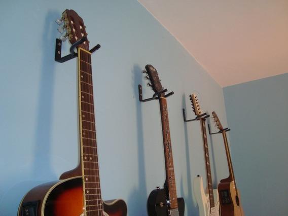 Kit 2 Suporte Violão / Guitarra / Baixo/ Cavaco/ Banjo