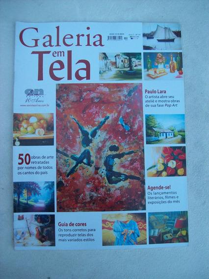 Revista Galeria Em Tela Nº 59: Paulo Lara - Guia De Cores