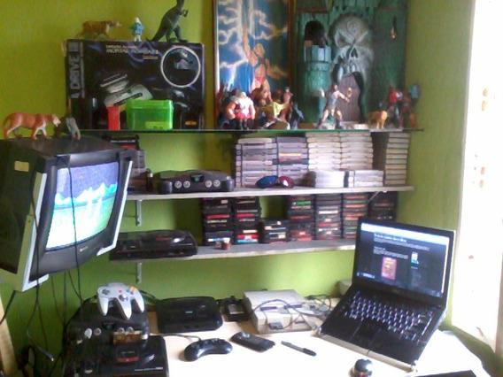 Super Nes Mega Drive N64 Cartuchos Acessorios