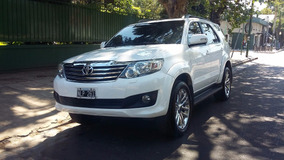 Toyota Hilux Sw4 4x2 Srv 2.7 Año 2014 At -permuto50%financio