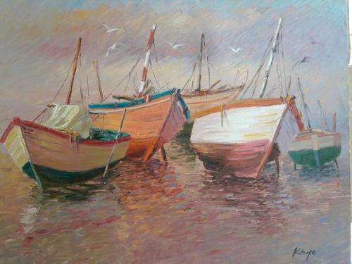 Cuadros Al Oleo Kayo.pinturas Para Sala Hogar