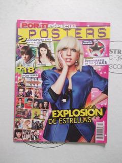 Por Ti,revista Especial Pósters,portada Lady Gaga.