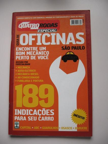 Revista Quatro Rodas Nº 521c - Especial Oficinas - São Paulo