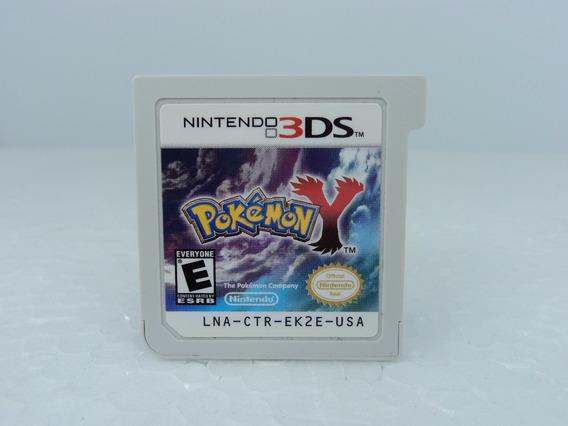 Pokemon Y - Nintendo 3ds - Fita Original Em Ótimo Estado !!!