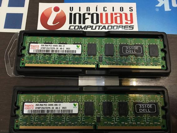 Memoria 2gb Pc2-6400e Hp Workstation Xw4300 Xw4400 Xw4600 Ct