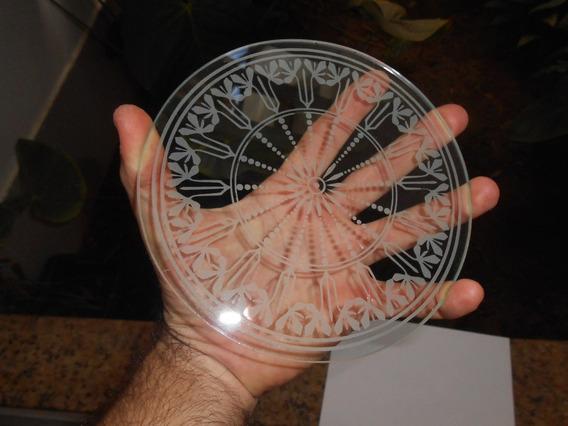 Vidro Trasparente Da Parte De Baixo Do Relógio Oito