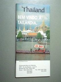 Folder Turístico Thailand - Bem Vindo À Tailândia