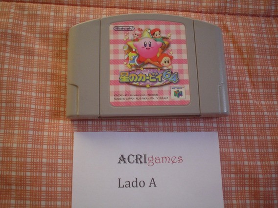 Kirby 64: The Crystal Shards Nintendo 64 N64 Versão Japonesa