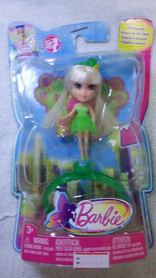 Boneca Barbie Fada E Pulseira