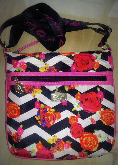 Cartera Bandolera Betsey Johnson Importada Usa