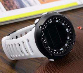 Relógio Digital Pulseira Led Pulso Masculino Feminino-branco