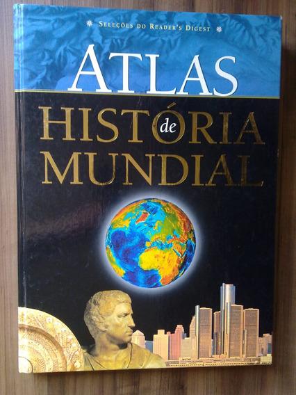 Atlas De História Mundial - Frete Grátis Em 12x Sem Juros