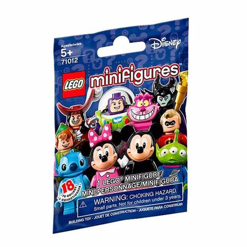 Imagem 1 de 2 de Lego 04 Minifiguras Surpresa Lacrada Disney Código 71012