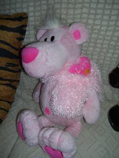 Dia Del Niño Hermosa Panter Rosa De Peluche