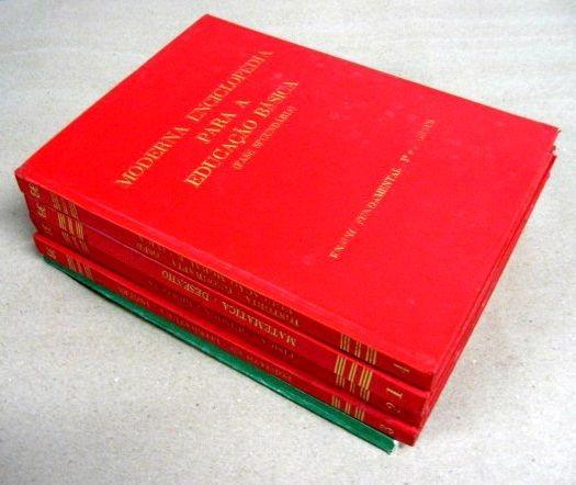 Moderna Enciclopédia Ilustrada Para Educação Básica - 4 Vols