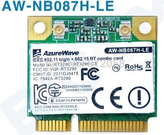Placa Wifi Bluetooth Nuc Intel Notebook Wi-fi Aw-nb087h-le