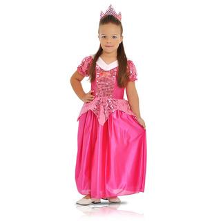 Fantasia Princesa Rosa Tamanho P P Sulamericana - Bonellihq