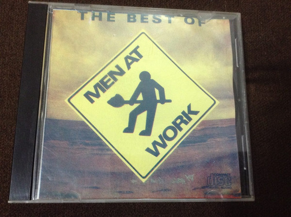 Cd Men At Work - The Best Of - Novíssimo - Acervo Pessoal