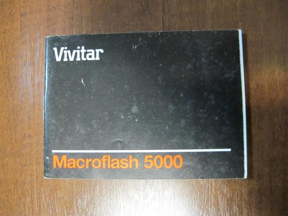 Vivitar Macroflash 5000 - Manual Original