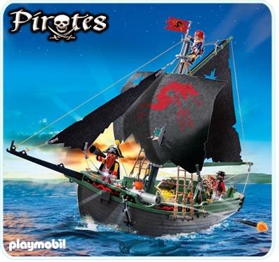 Playmobil Barco Pirata Motor Submarino Radio Control 5238 Mercado Libre