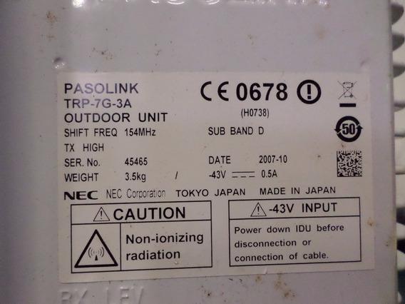 Pasolink Nectrp-7g-3a Sub Band D Tx High $h0738g