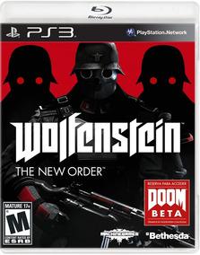 Wolfenstein The New Order - Playstation 3 - S. G.