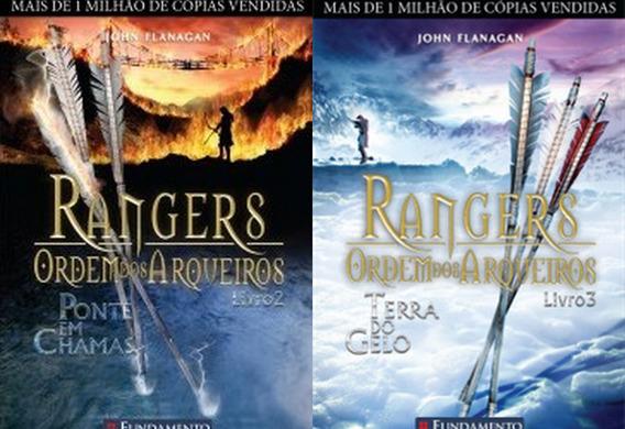 Rangers Ordem Dos Arqueiros Volumes 2 E 3 - 11 A 17 Anos