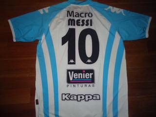 Exclusiva Camiseta Argentina Fundacion Pupi Kappa #10 Messi