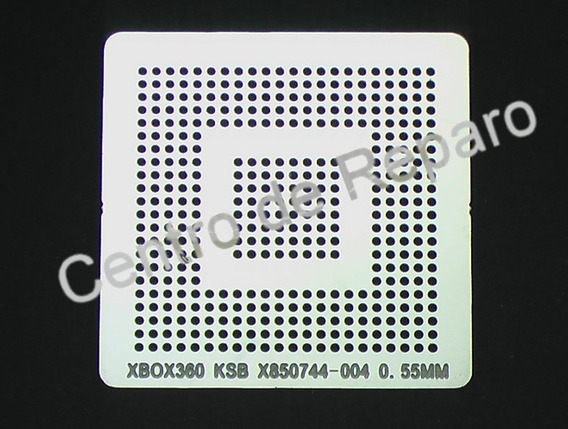 Stencil Xbox360 Corona Ksb X850744 Reballing Calor Direto