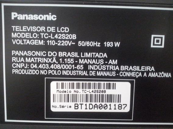 Placa Inverter Tv Panasonic Mod Tc-l42s20b