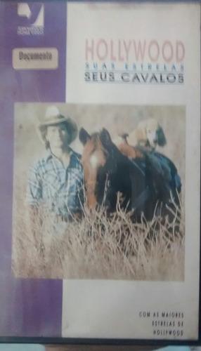 Vhs Dvd Hollywood Suas Estrelas E Seus Cavalos