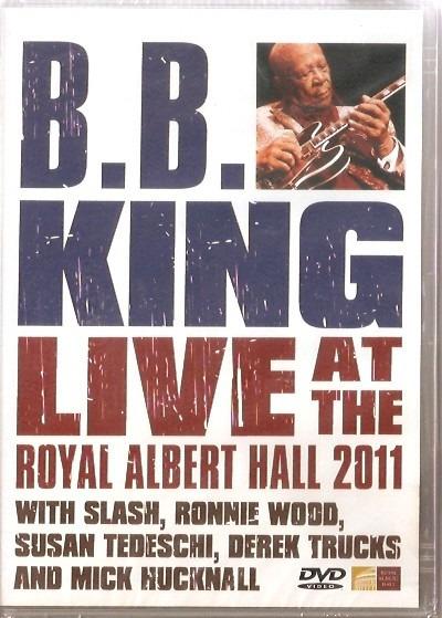 Dvd B.b. King - Live At The Royal Albert Hall 2011 - Novo***
