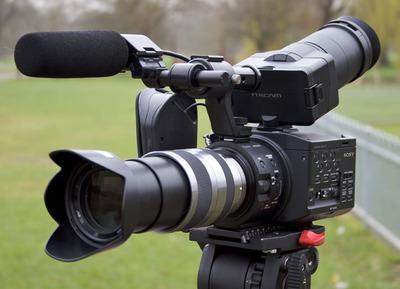 Camarógrafo Alquiler Cámara Sony Nex Fs 100,full Frame Hdv