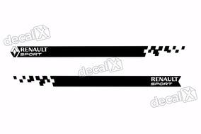 Adesivo Faixa Lateral Renault Sandero Sport Sdro90