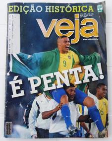Revista Veja Ed. Histórica Copa Do Mundo 2002 Frete Grátis