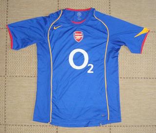 Camisa Original Arsenal 2004/2005 Away