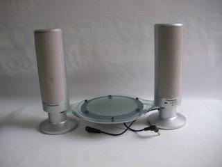 Parlantes Para Discman Panasonic Usados Funcionan Speaker