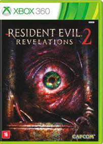 Resident Evil Revelations 2 Mídia Física Xbox 360 Lacrado
