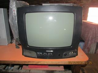 Televisor Color 14 C/control + Soporte De Regalo