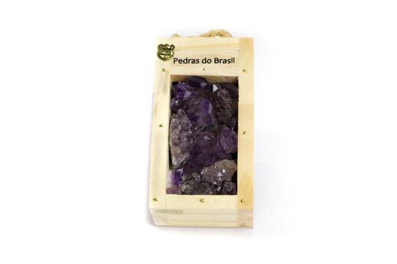 Drusas De Ametista - Caixa Beleza Natural - Souvenir