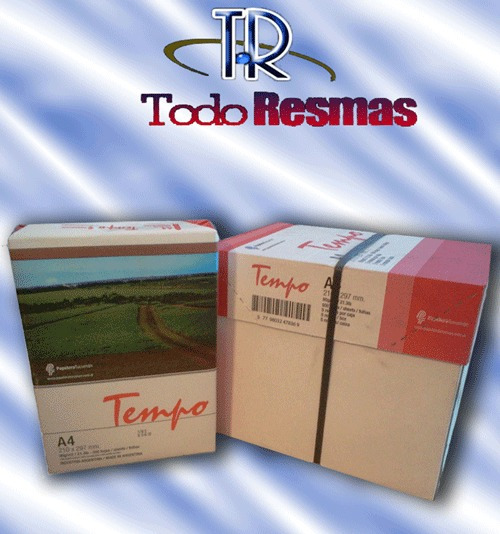 Resma Tempo A4 80 Gr.consulte Envio Gratis A Caba